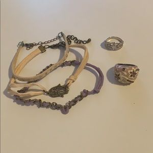 Jewelry - Bracelets and rings! So cute!